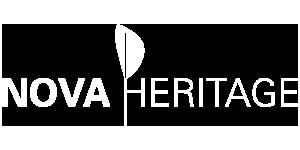 Logo Nova Heritage Blanc